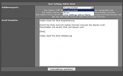 New User Validation