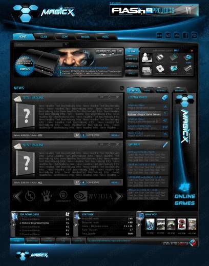 MagicX Premium Clandesign