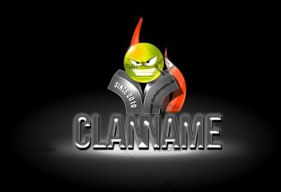 Premium 3D - Clan Logo 6