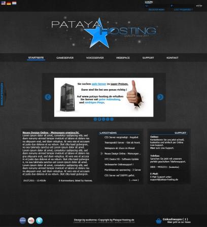 Pataya-Hosting.de + HostingDesign