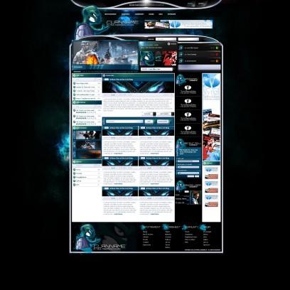 Webspell Clantemplate v017