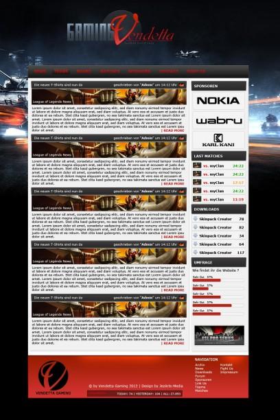 Vendetta Gaming Clandesign