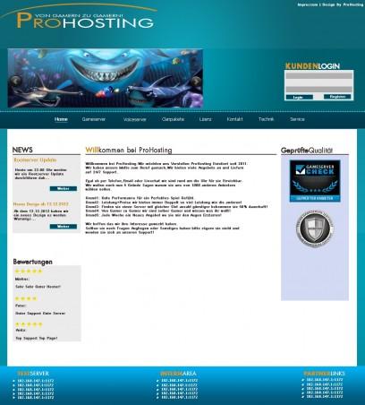 Hosting Projekt Blue Fish