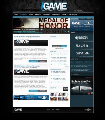 iGAME Clan/Gamingdesign (Logo mitte)