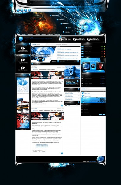 Webspell Clantemplate v018