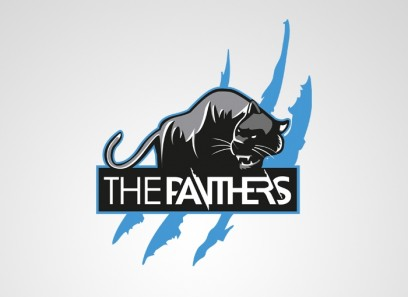 Panther Clan Logo(Vektor)/Spielerrahmen/T-Shirt