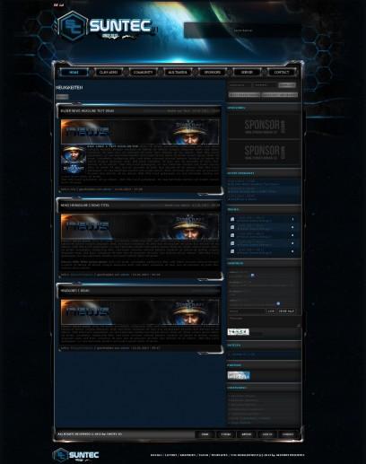 Suntec Projekt / Starcraft II Design