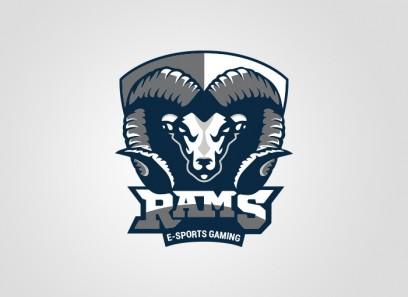Rams Clan Logo(Vektor)/Spielerrahmen/T-Shirt