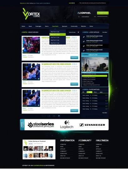 Vortex Gaming Template