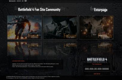 Battlefield 4 EnterPage