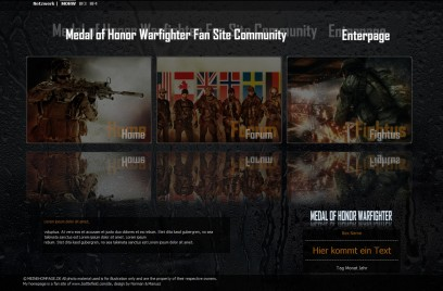 Medal of Honor Warfighter EnterPage