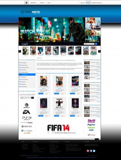 Gamekey-Online Shop