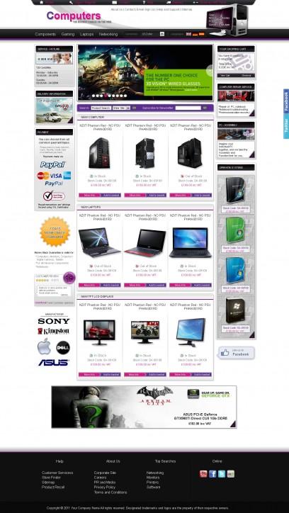 Computer Web Shop
