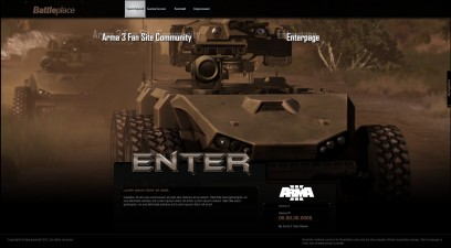 Arma 3 Battleplace Enterpage
