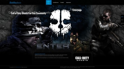 Call of Duty Ghosts Battleplace Enterpage