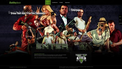 Grand Theft Auto 5 Battleplace Enterpage