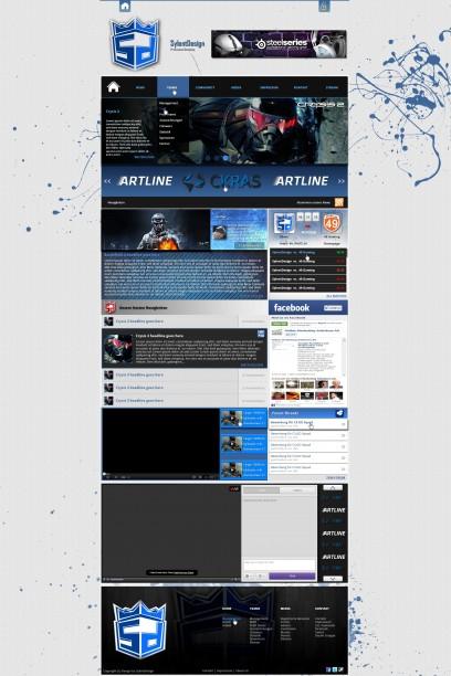 SylentDesing - Webspell Anpassung