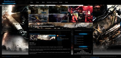 Call of Duty Advanced Warfare Battleplace Ilch Template