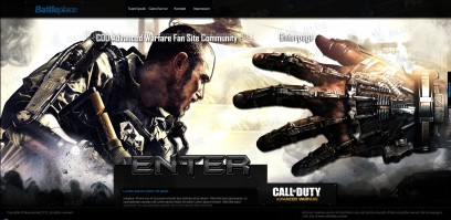 Call of Duty Advanced Warfare Battleplace Enterpage