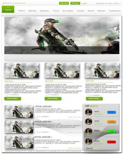 GreenWebdesignJeroArts