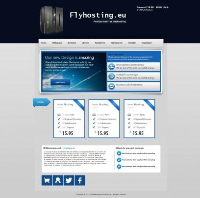 Flyhosting V2.0 ( HTML / CSS )