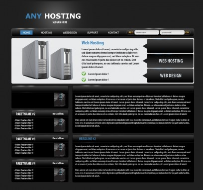 Any Hosting Template