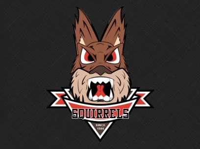 Aggressive Squirrel Logo