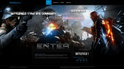 Battlefield 1 Battleplace Enterpage