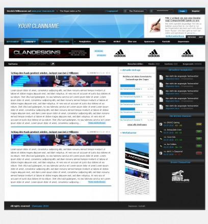 DesktopGaming - DZCP Template