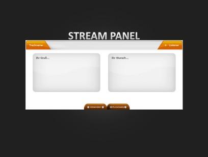 Listener & Admin Stream Panel