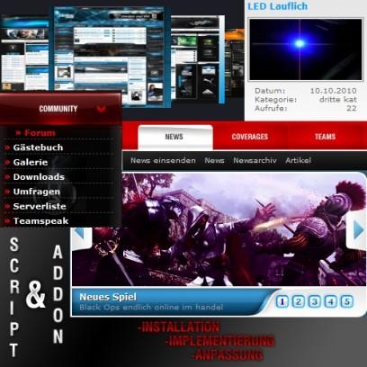 Script und Addon Installationsservice