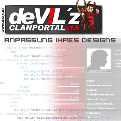 Designanpassung an DZCP 1.5