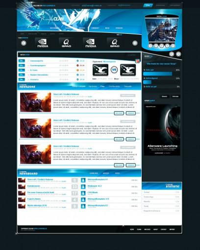 Webspell Clantemplate v009