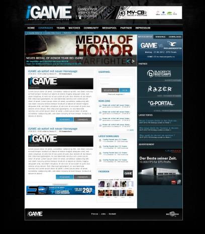 iGAME Clan/Gamingdesign (Logo links)