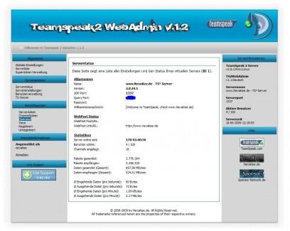 TS-Webadmin 1.1
