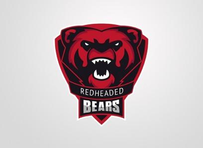 Bear Clan Logo(Vektor)/Spielerrahmen/T-Shirt
