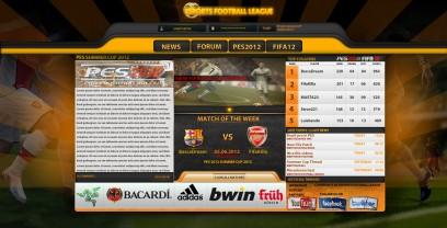 Football Online League Template