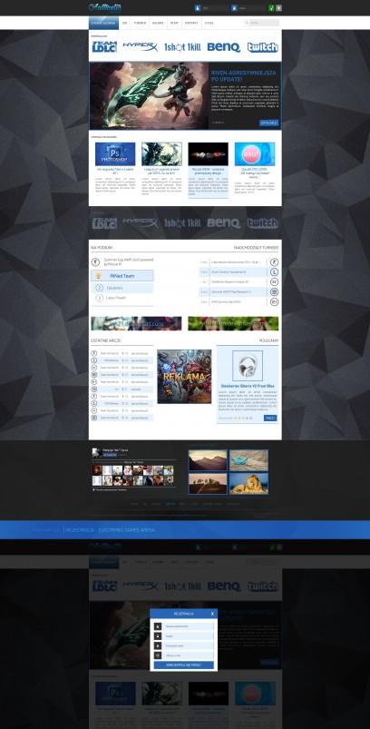Online eSports League design